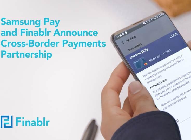 Samsung Pay y Finablr anuncian una asociación para transferencia de dinero