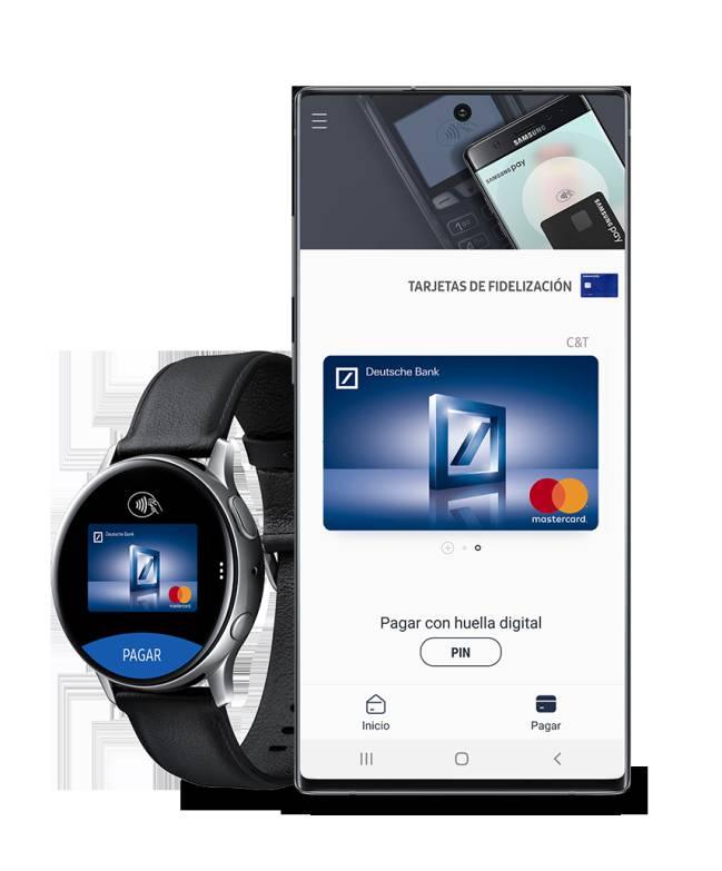 España: Deutsche Bank ya es compatible con Samsung Pay