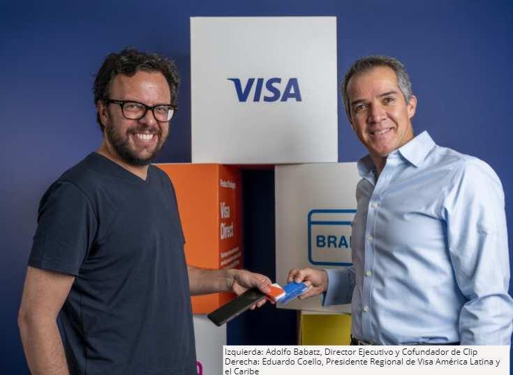 México: Visa y Clip unen fuerzas