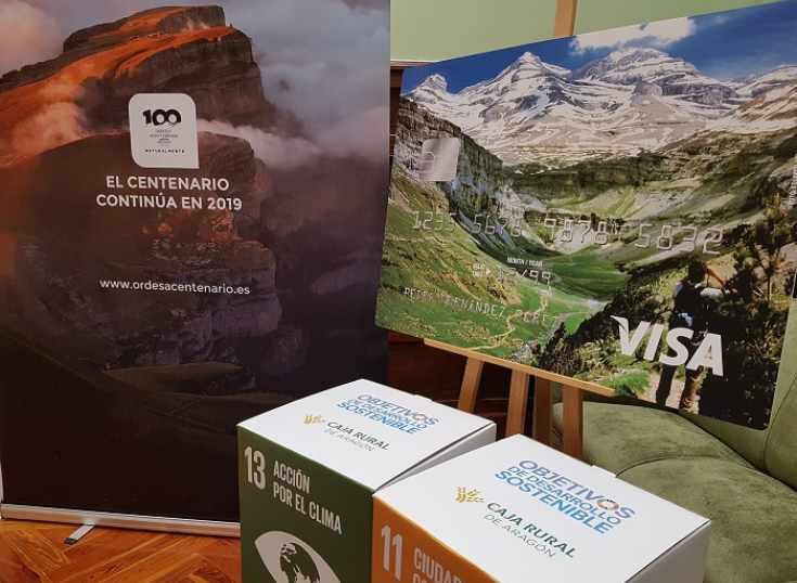 España: lanzan tarjeta VISA biodegradable