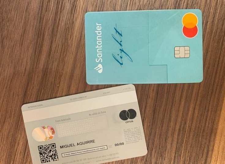 Seguridad: Santander quita los números a sus tarjetas de crédito en México