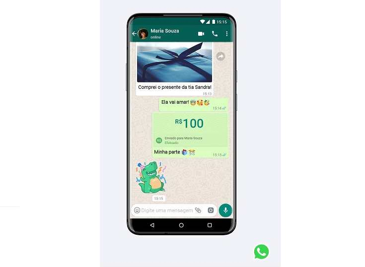 Brasil: Mastercard también permitirá enviar y recibir dinero por WhatsApp