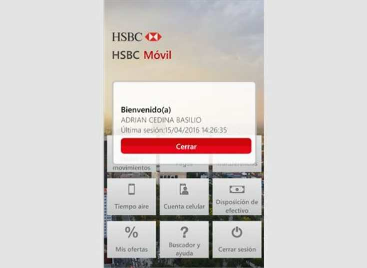 México: servicios digitales de HSBC crecen 70%