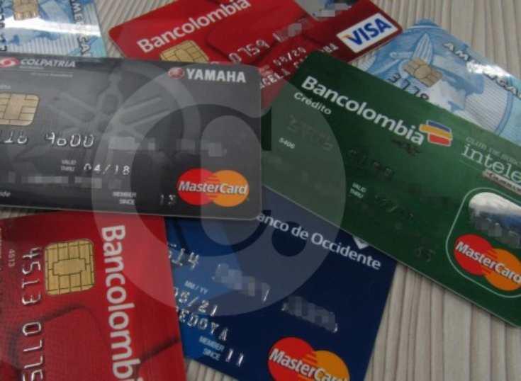 Las tarjetas también avanzaron frente al efectivo en Colombia
