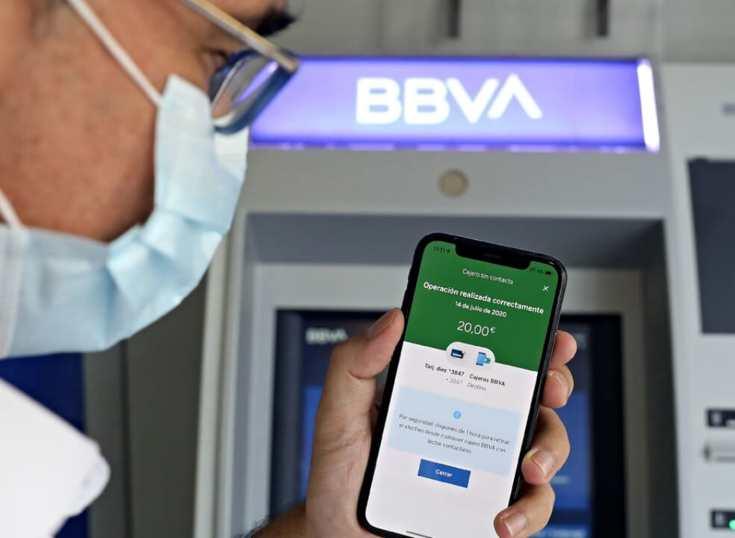 Cajeros contactless en España