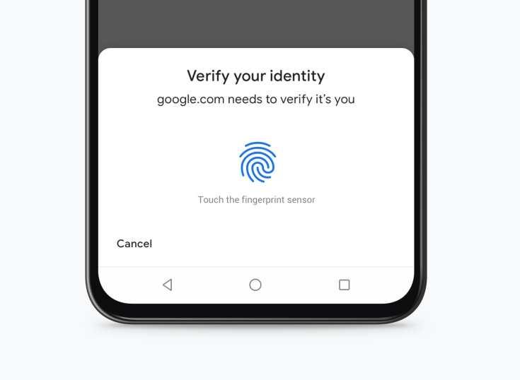 Chrome para android implementará autenticación biométrica para pagos con tarjetas