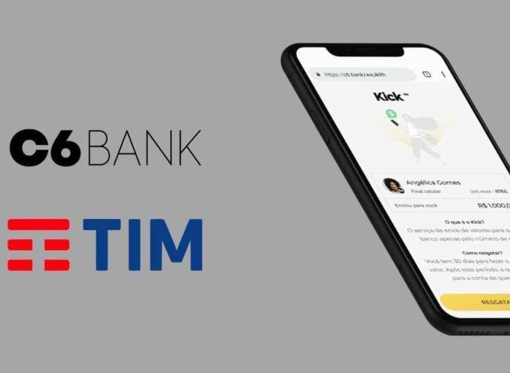 Brasil: TIM se adelanta y lanza el servicio de transferencia de dinero instantánea junto a C6 bank