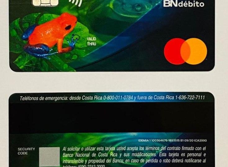 Costa Rica: Banco Nacional lanza la primera tarjeta de plástico reciclado de la región