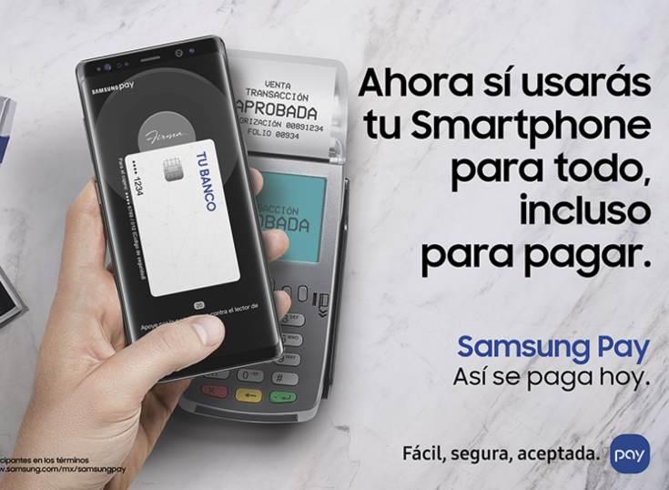 Algunos llegan otros se van: Samsung Pay le dice adiós a México