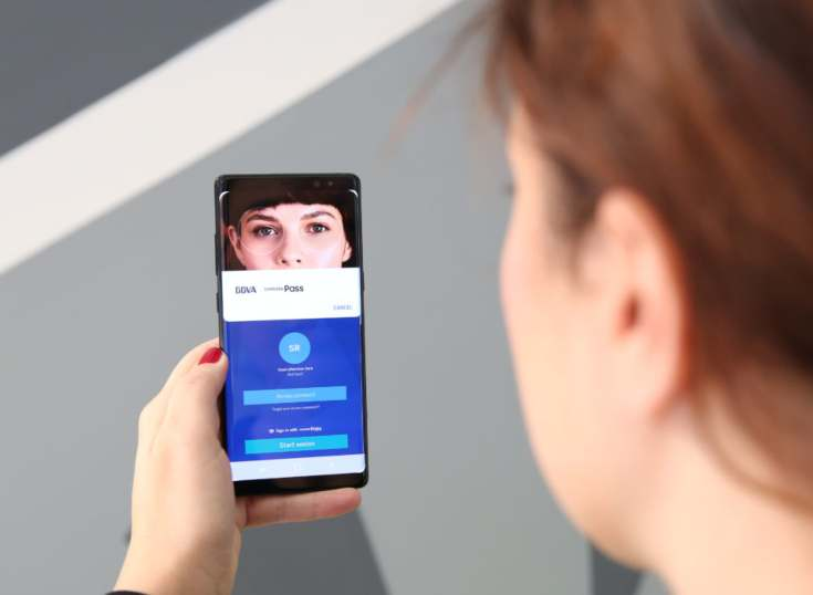 BBVA lidera la autenticación mediante biometría en España