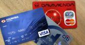 Colombianos pagan 14% de los gastos del hogar con tarjetas y medios electrónicos